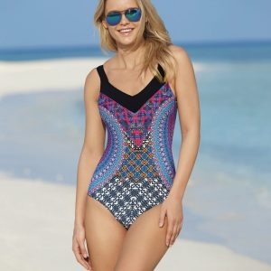 Sunflair, Post Surgery Swimsuit 22290 Latin Art