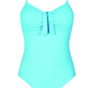 Amoena Louisa Post Surgery Swimsuit Sky Blue